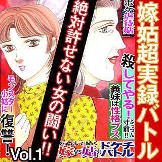 嫁姑超実録バトル 絶対許せない女の闘い!!vol.1のイメージ
